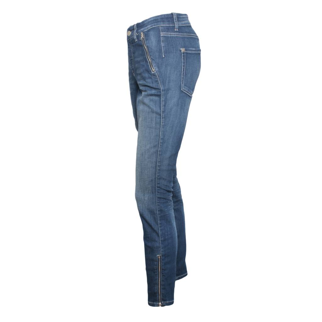cambio jeans ... cambio cambio parla zip jeans - denim ... KNTZCWN