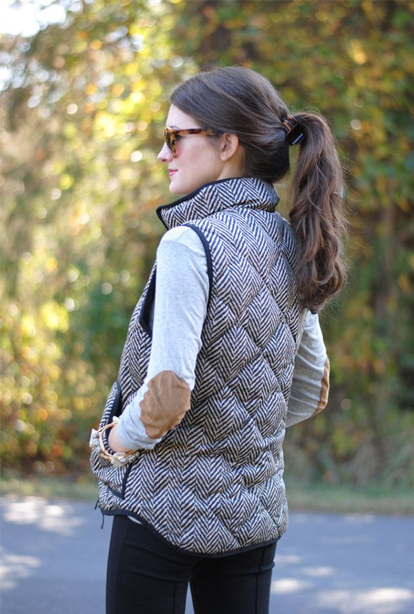 check out this post for some serious puffer vest inspiration! #jcrew  #puffervest MDESOVU