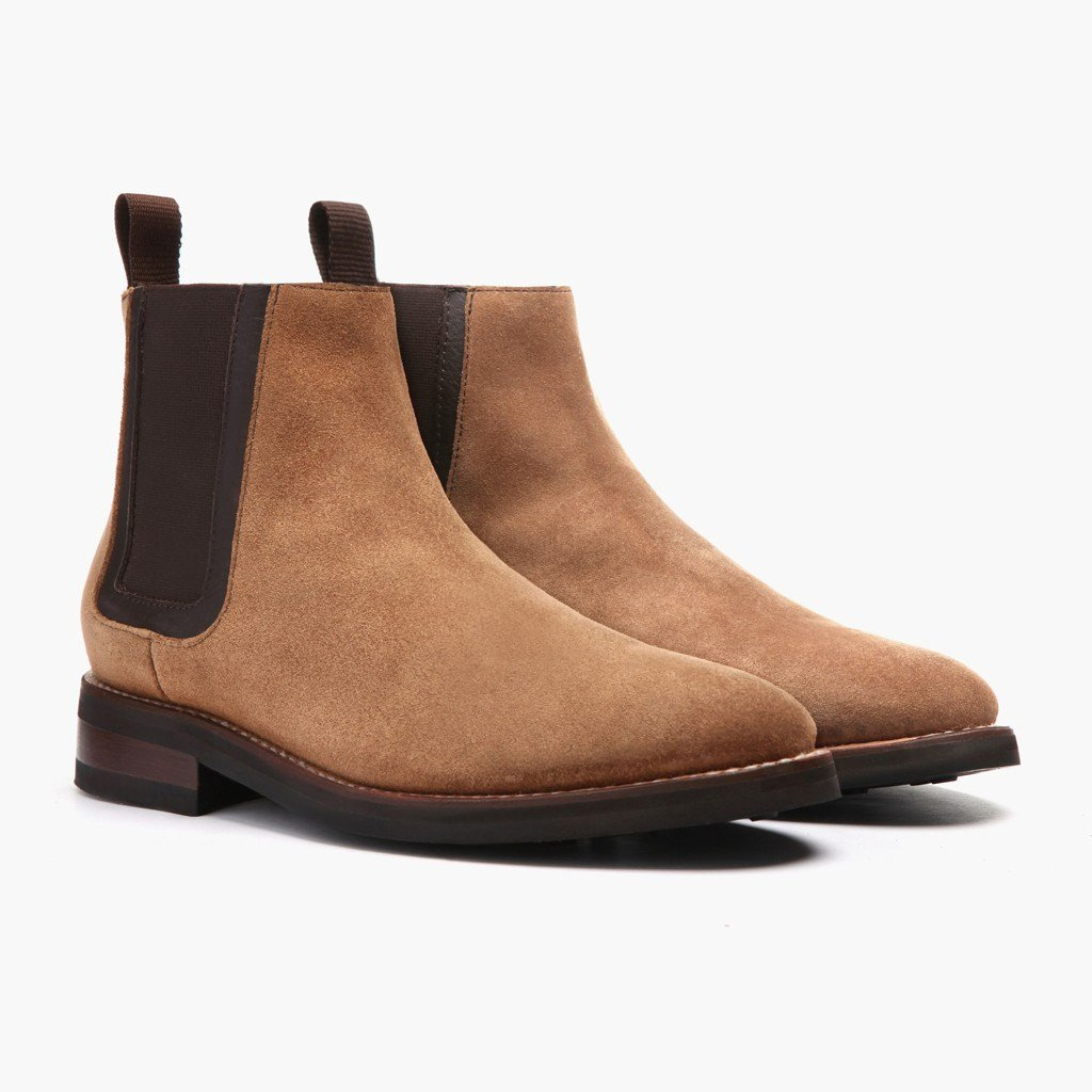 chelsea boot duke | honey suede SSOOOJK