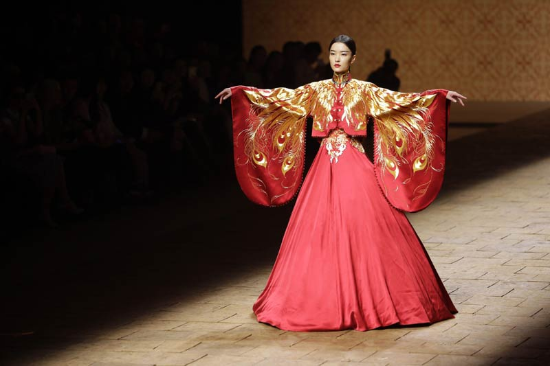 chinese fashion highlights of china fashion week TRMPRJN
