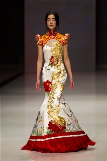 chinese fashion ne-tiger couture spring summer 2014 ♔ china fashion week. ~ it is freakin SEGVKMH