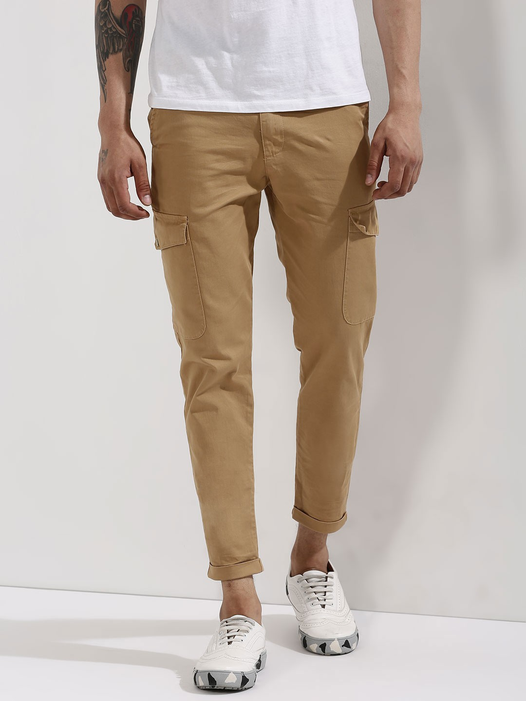 chinos for men - buy online men chinos in india at koovs RVFUGZO