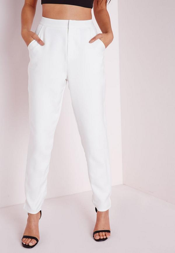 cigarette pants white WQITQAA