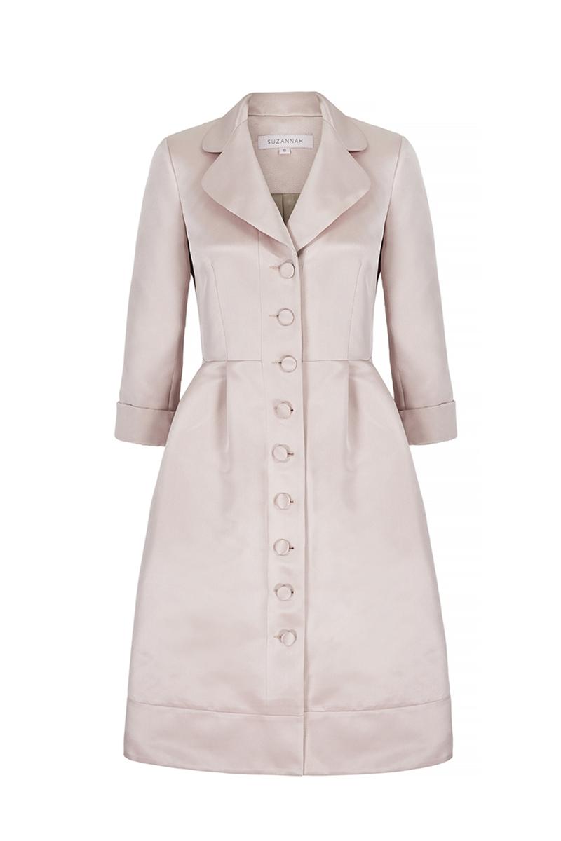 coat dress pink princess dress coat front ... nxmpwcq XZZWXBE