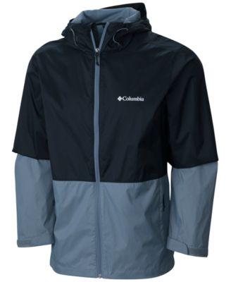 coats for men columbia menu0027s roan mountain colorblocked rain jacket KTZCRGE