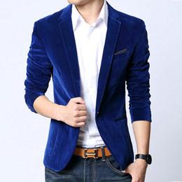coats for men mens blazer slim fit suit jacket black navy blue velvet 2017 spring autumn  outwear YGPPILK