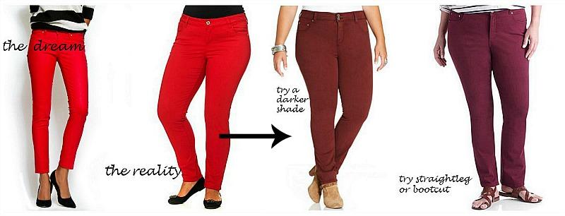 colored jeans DAQIKDO