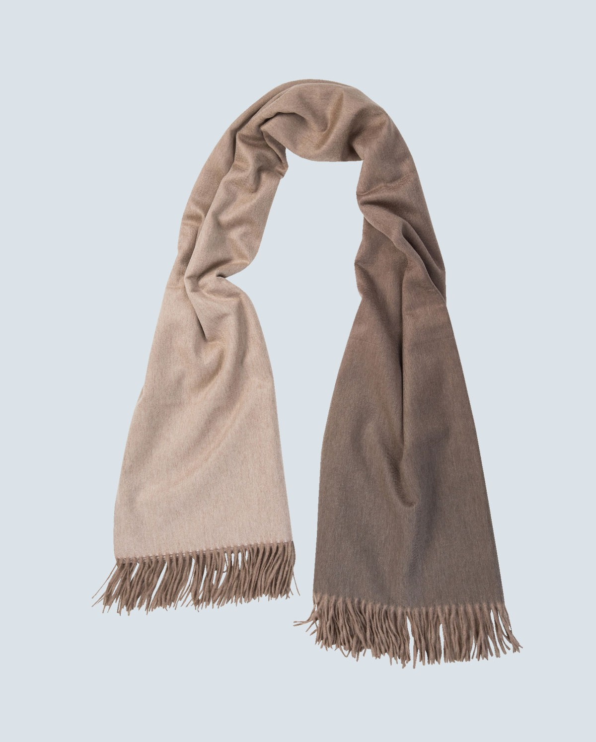 colour graded 100% cashmere scarf marble MVCHDRR