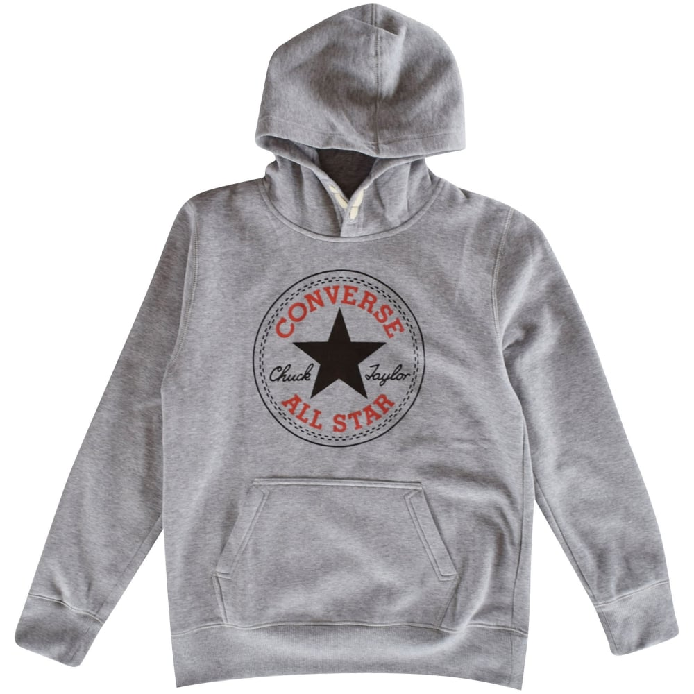 Converse Hoodie converse junior converse kids grey pullover hoodie UWRQETV