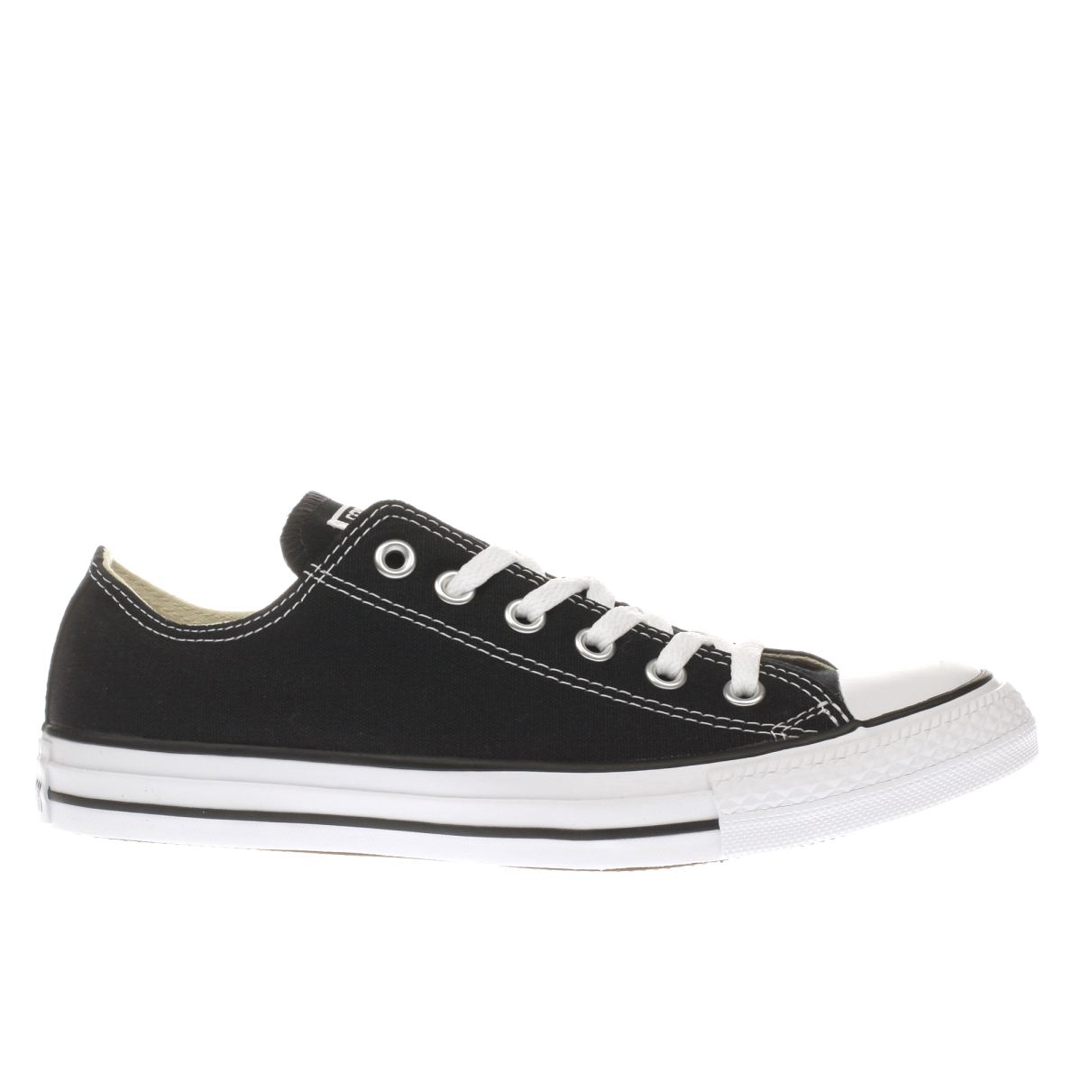 converse trainers converse black all star oxford womens trainers BRVKHPU