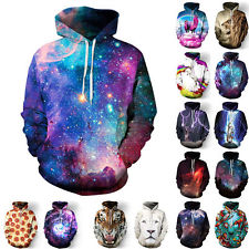cool hoodies 1pc unisex cool 3d galaxy graphic printed pocket sweatshirt hoodies tops  jumpers KVGFJTU