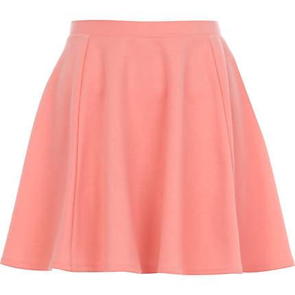 coral skater skirt - skater skirts - skirts - women RVEYMHT