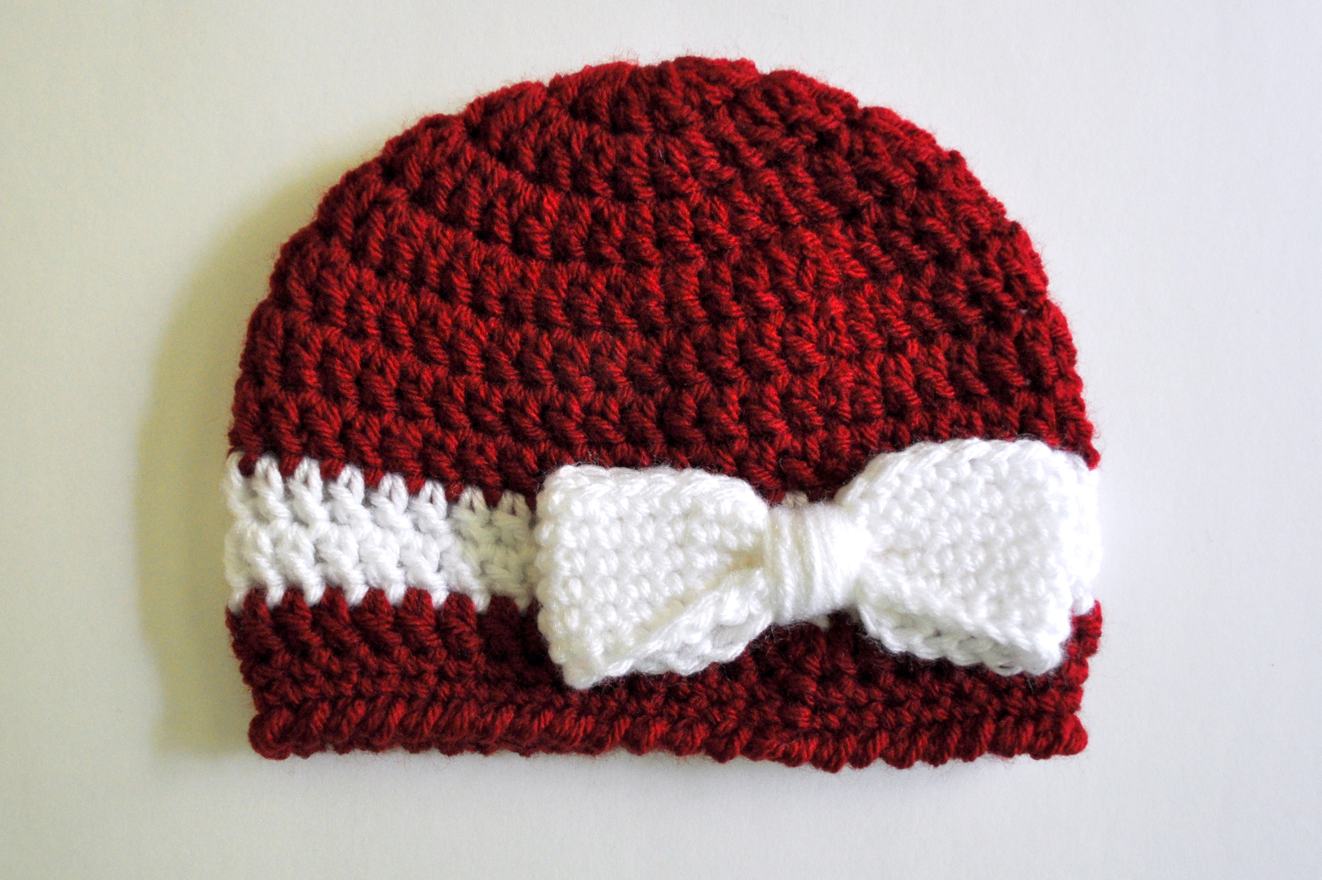 crochet baby beanie pattern crochet ribbon and bow baby hat pattern | classy crochet CRJBVBQ