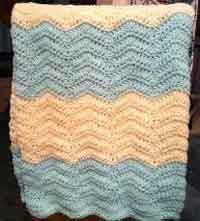 crochet baby blanket patterns chevron baby blanket crochet pattern FOAPAKZ