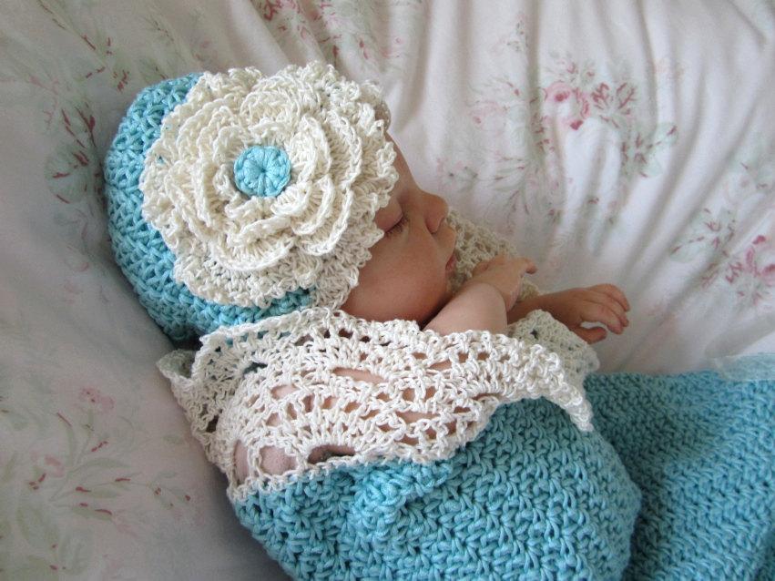 crochet baby cocoon 🔎zoom CZUSPFE