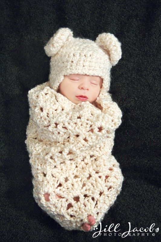 crochet baby cocoon another sweet cocoon pattern for my collection...i love the chunky  texture,. crochet cocoon patterncrochet UXMEWHR