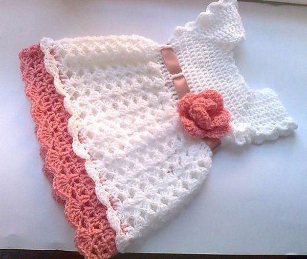 Handmade Crochet Baby Dress Pattern For Your Baby Fashionarrow