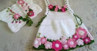 crochet baby dress pattern VWDFXWT