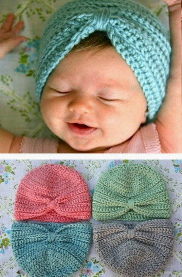 Easy Knit Baby Hat With Ear Flaps Nc