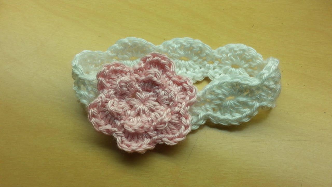 crochet baby headbands crochet how to easy #crochet shell stitch baby headband #tutorial #55 learn  crochet - DRVQJGJ