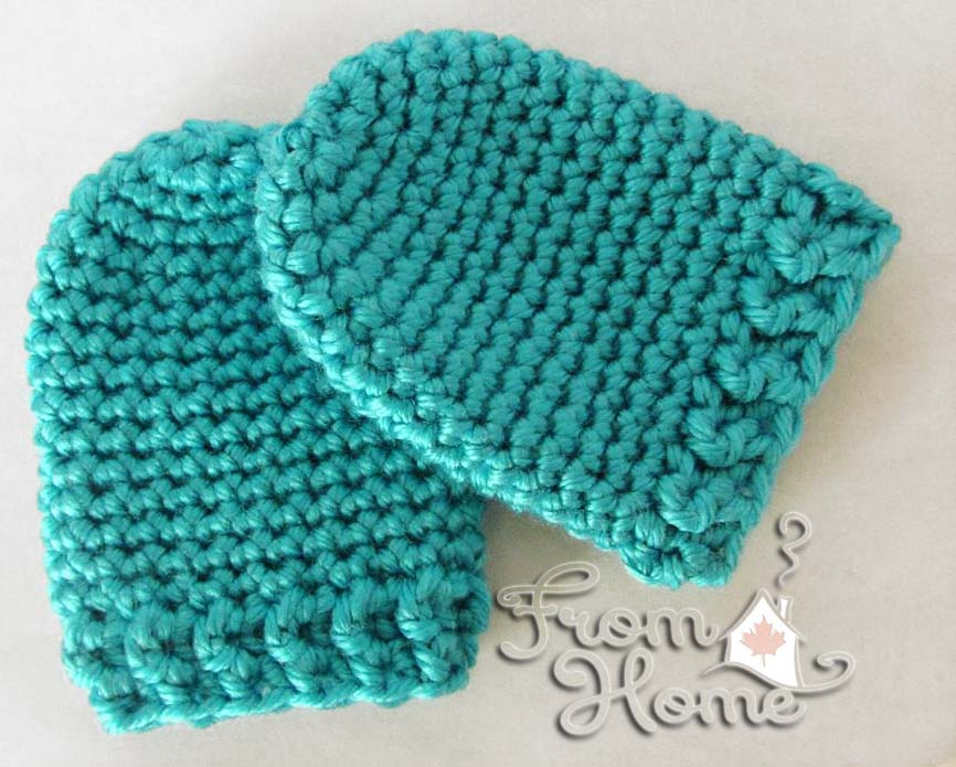 crochet baby mittens infant scratch mitts | hodgepodge crochet BDAJVLD