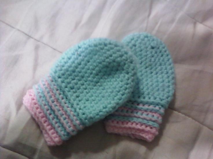 crochet baby mittens tessu0027s patterns: baby mittens crochet ...