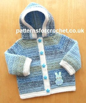crochet baby patterns free pdf baby crochet pattern for hooded jacket  http://www.patternsforcrochet. ABNSTMT
