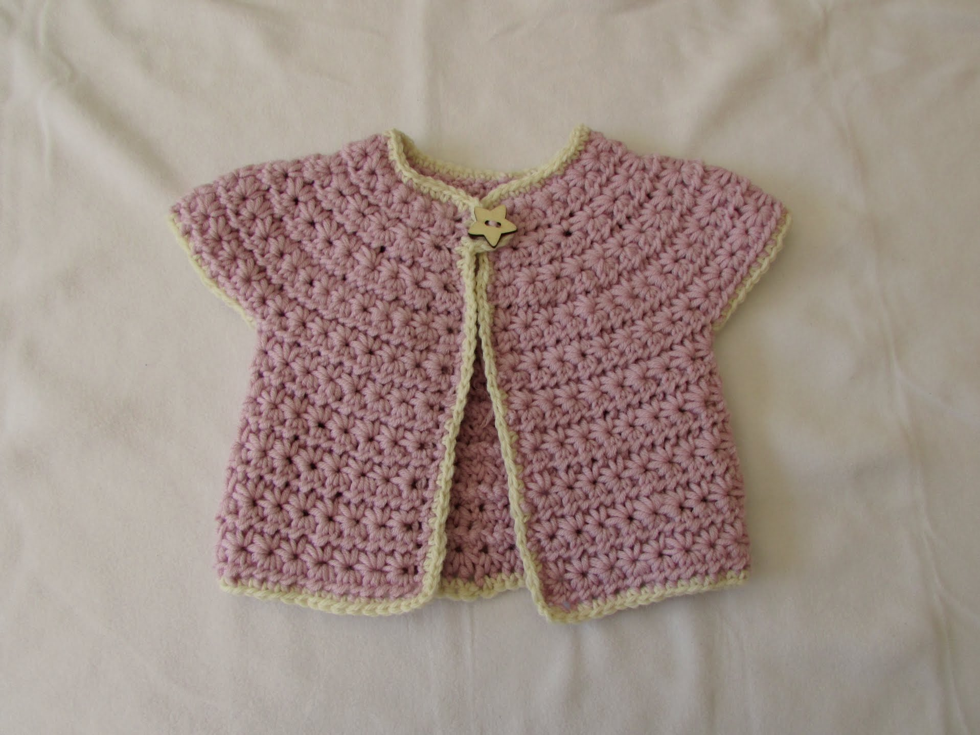 crochet baby sweater how to crochet a chunky star stitch baby cardigan / sweater / jumper - VCULIOS