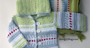 crochet baby sweater mini moogly sweater · sven sweater XEXWAFZ