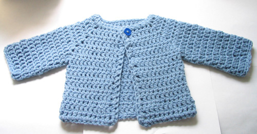 crochet baby sweater ravelry: crocheted baby sweater pattern by beth koskie RZMEHDF