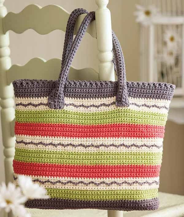crochet bag pattern bright and sunny crochet tote bag pattern to download - crochet patterns -  aff EPFNLBX