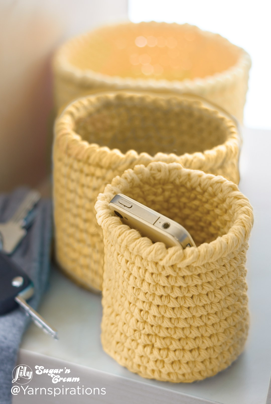 crochet basket pattern crochet nesting baskets ZUMBFHZ