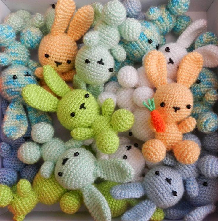 crochet bunny pattern crochet bunny roundup KXNYCXU