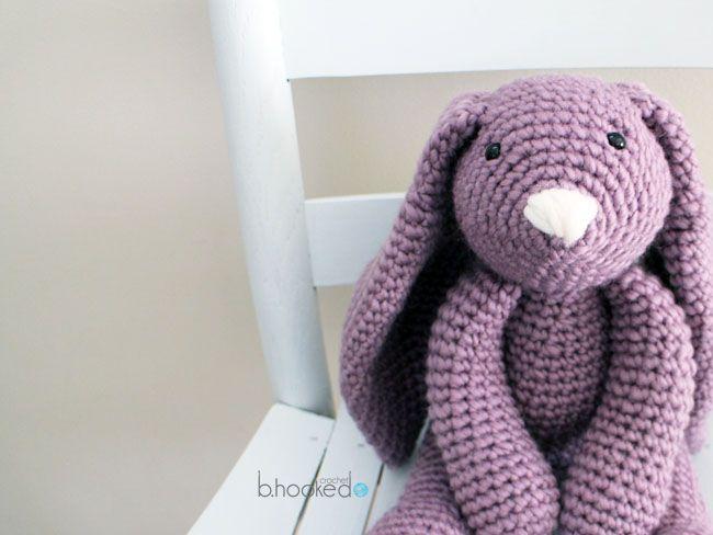 crochet bunny pattern  HOMOWGT