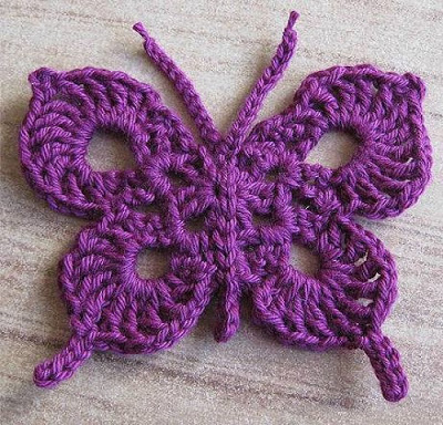 crochet butterfly pattern butterfly crochet pattern QRJJHVS