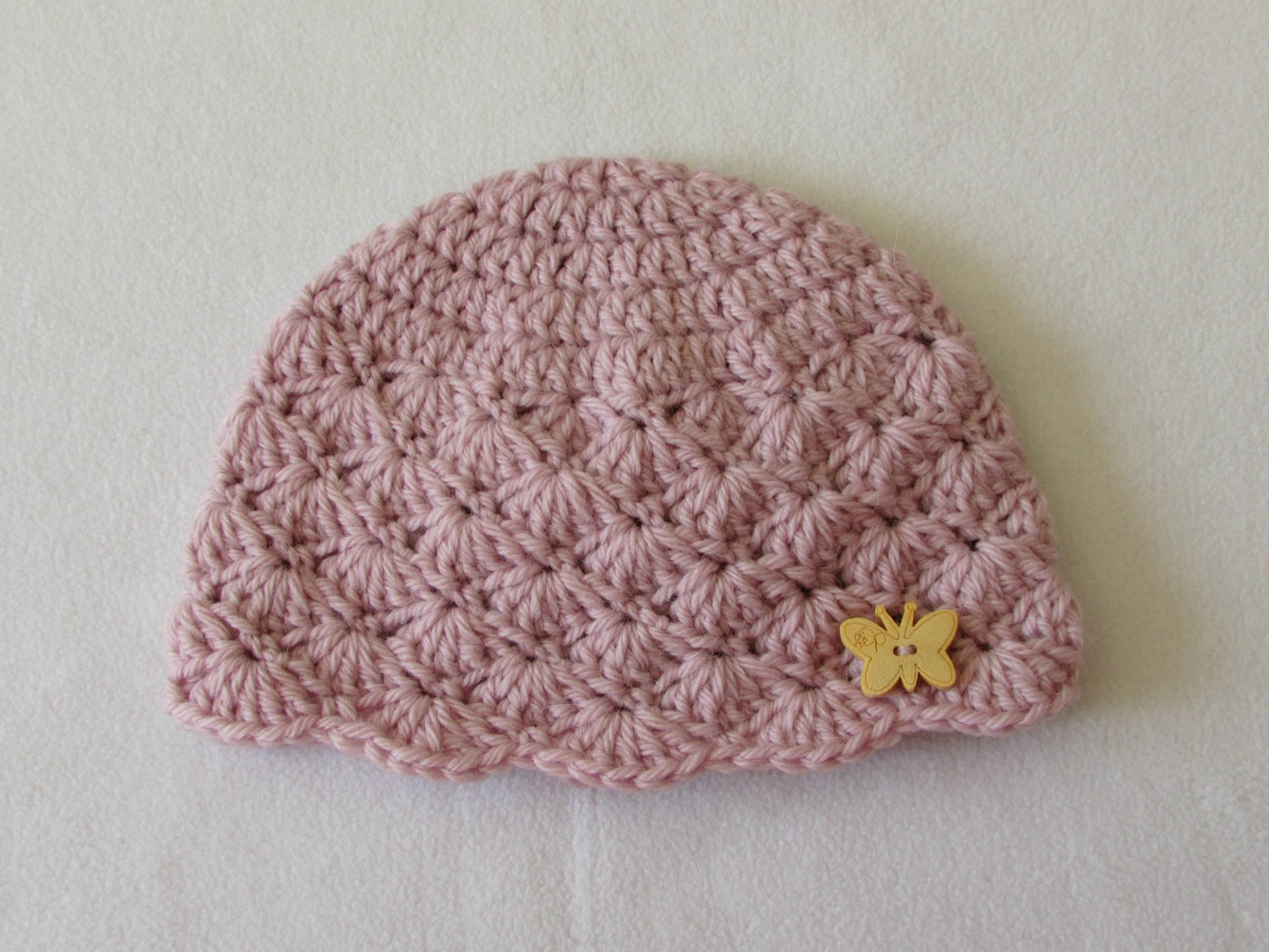 Crochet cap for babies how to crochet a cute baby girlu0027s hat for beginners - youtube FXQPFWH