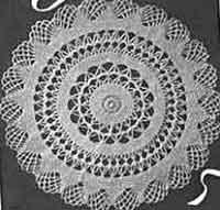 crochet doilies 1942 doily PWKCQSG