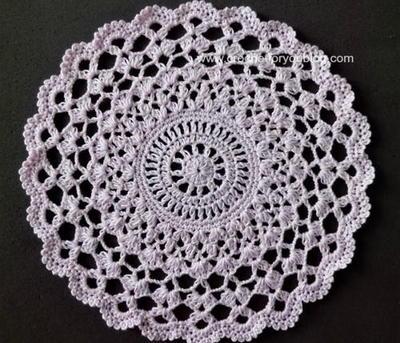 crochet doilies pear blossums crochet doily XSTMJGX