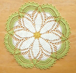 crochet doilies sweet daisy - free archived crochet doily pattern by aly hymel. RPABPTM