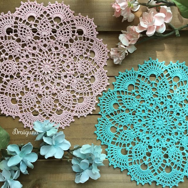 crochet doily patterns this doily is 18 rounds and measures 8 there are several types of stitches ZDSYUAL