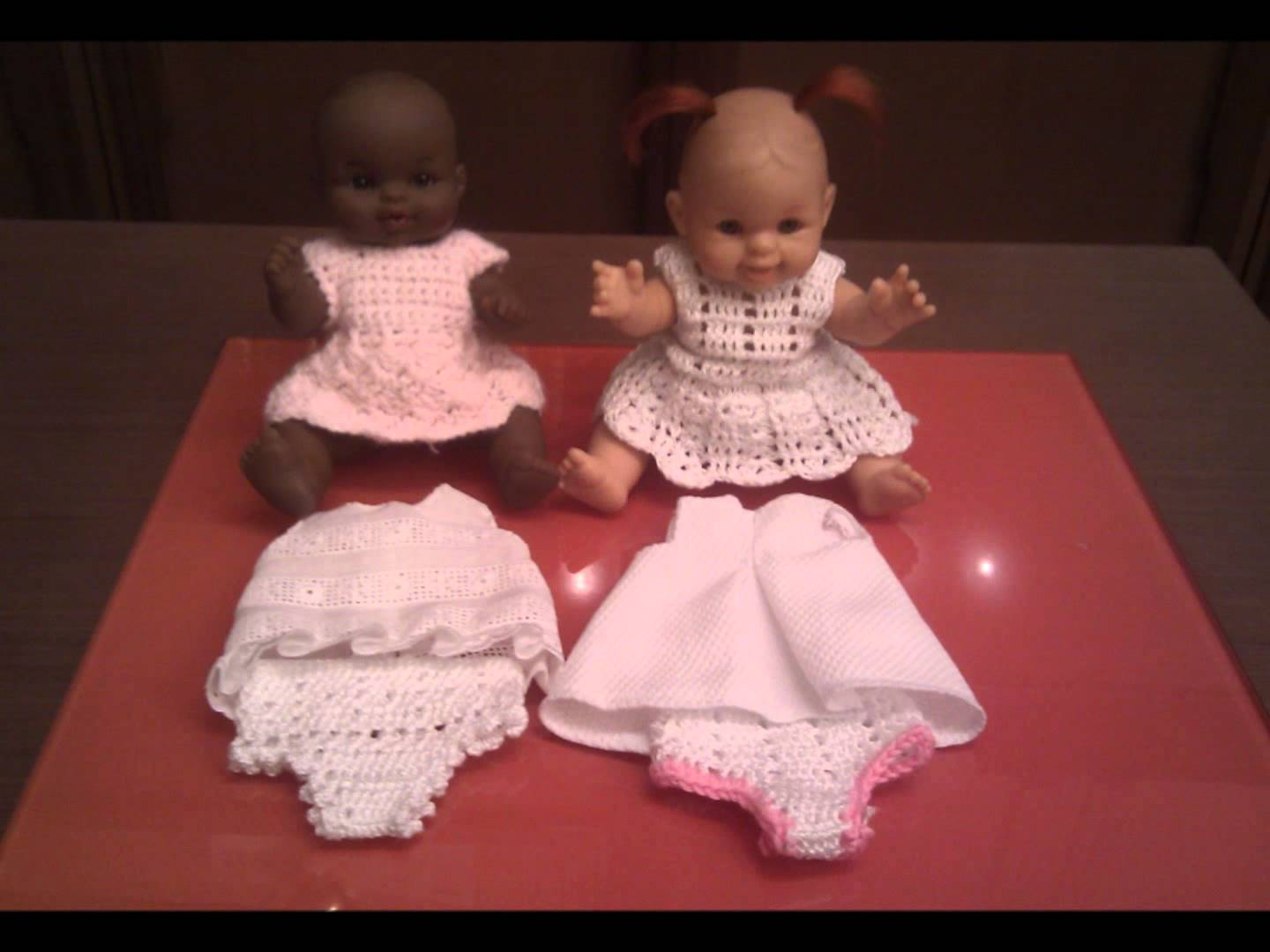 crochet doll clothes - youtube HWDCFXX