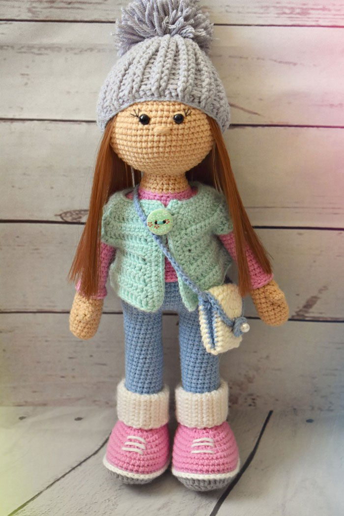 crochet doll patterns molly doll crochet pattern CWIQIJG