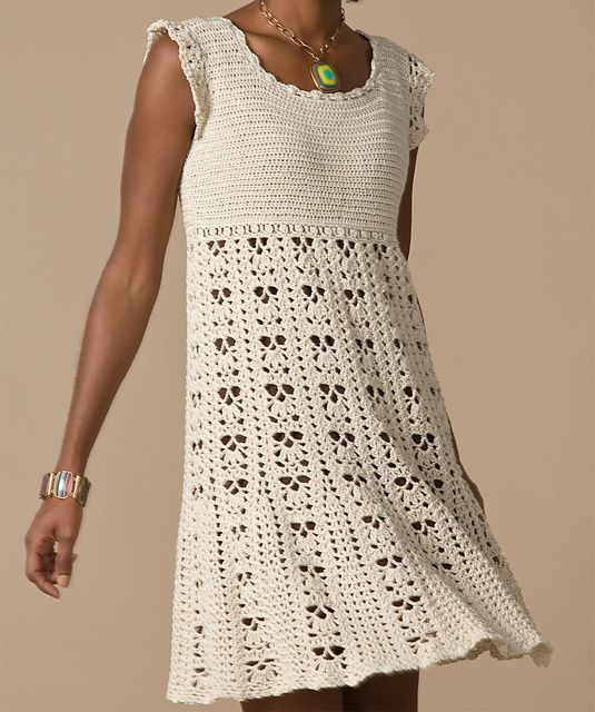 The simplest way to get a perfect crochet dress pattern