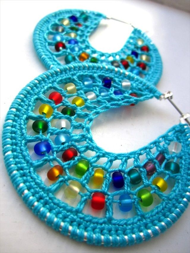 crochet earrings our todayu0027s sharing is 20 diy crochet earring ideas that you can easily try UZFLFQO