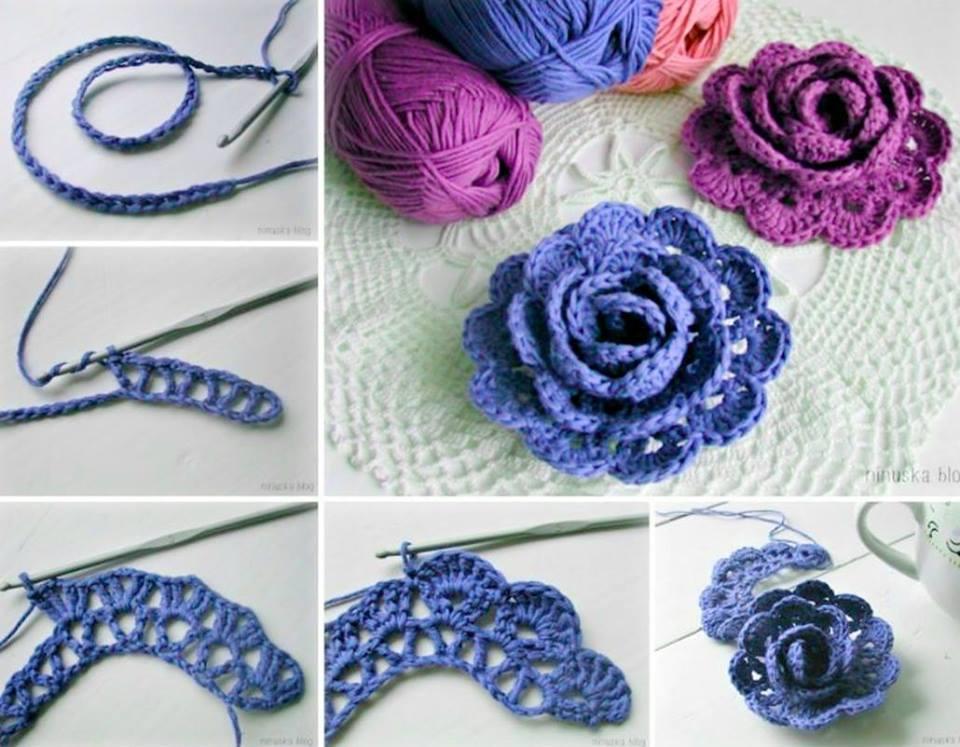 crochet flower pattern view in gallery gorgeous 3d lace flowers-wonderfuldiy NDCBFAG