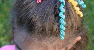 crochet hair accessories curly_crochet_ponytail-bow. curly crochet ponytail bow BOTREMY