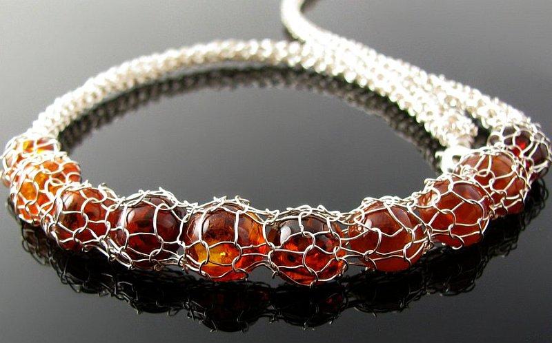 crochet jewelry patterns view in gallery diy wire crochet bracelet HBVYFYX
