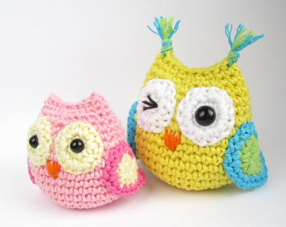 crochet owl pattern 12.owl crochet free patetern amigurumi IPWQFFB