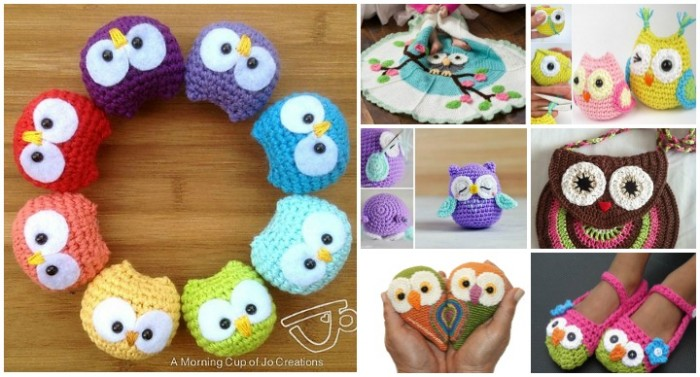 crochet owl pattern diy crochet owls free patterns roundup BJUIBGS