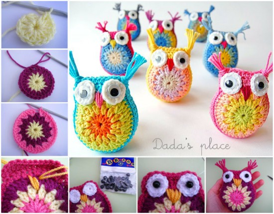 crochet owl pattern diy crocheted owls free patterns4 WUOIFDI